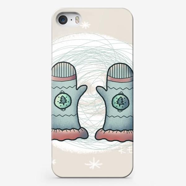 Чехол iPhone «Варежки»