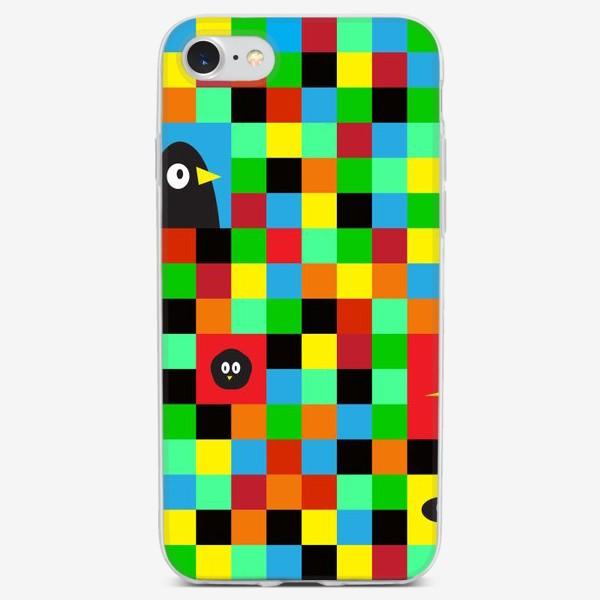 Чехол iPhone «Чудные птицы»