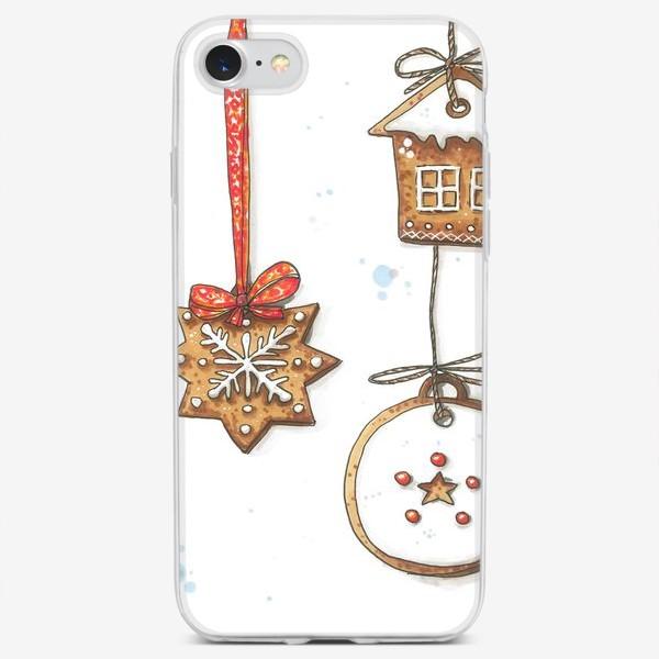 Чехол iPhone «Рождественские пряники»
