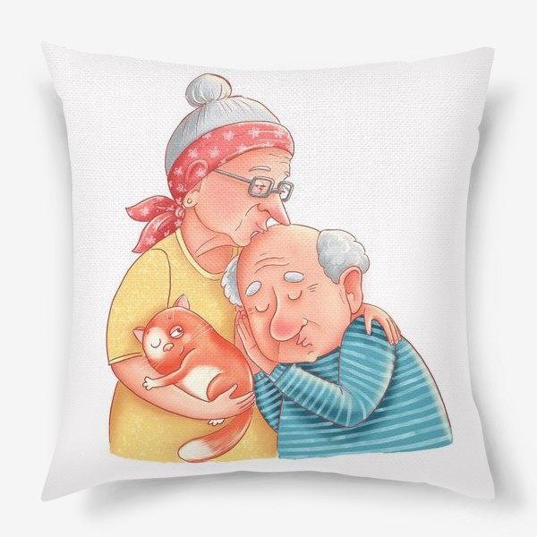 Подушка «Милые старички»