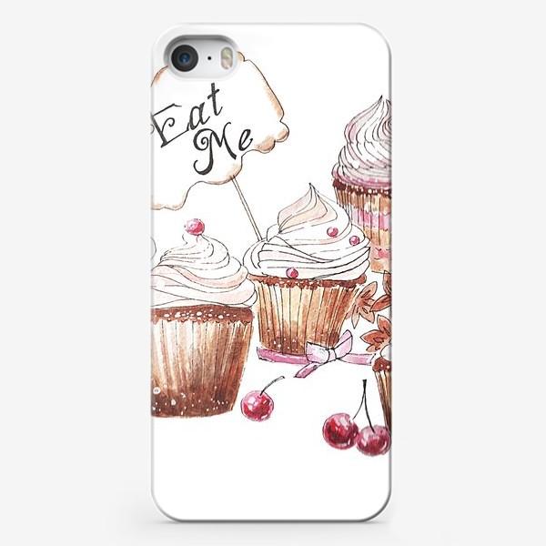 Чехол iPhone «Капкейки, вкусняшки»