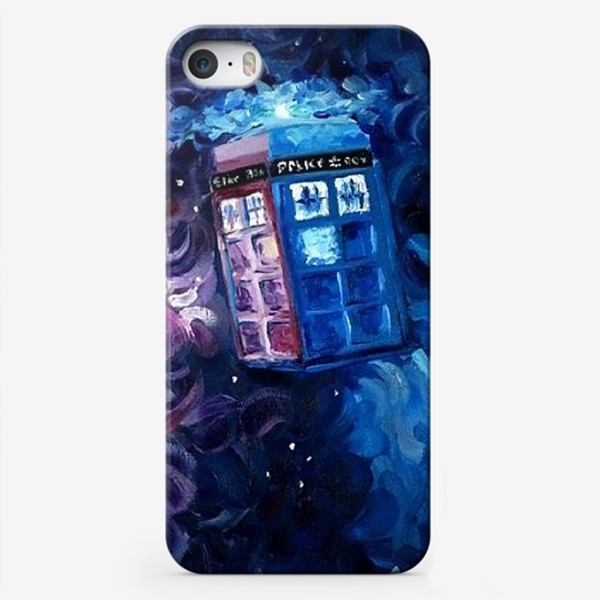 Чехол iPhone «Doctor WHO, Tardis»