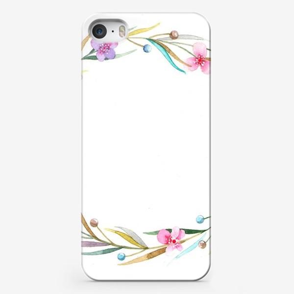 Чехол iPhone «цветочный веночек»