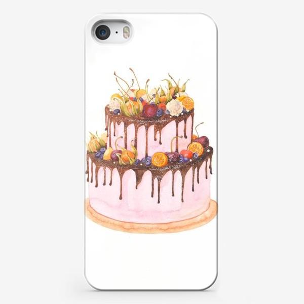 Чехол iPhone «торт»