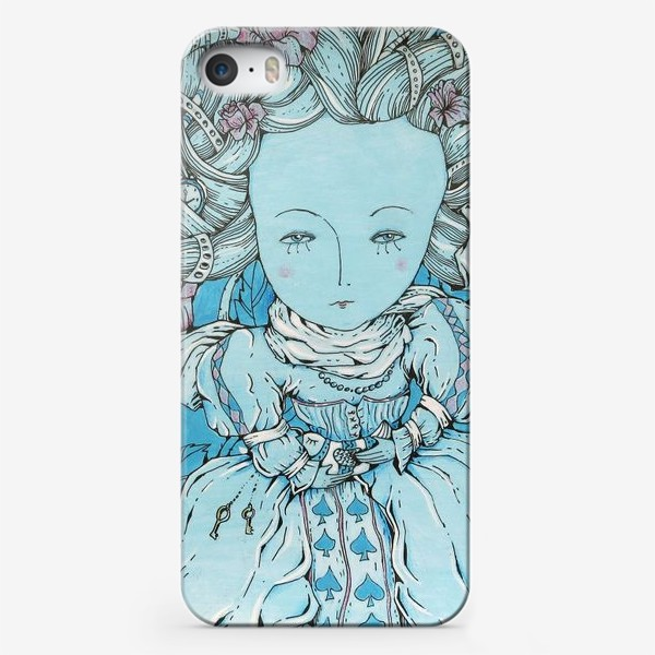 Чехол iPhone «Королева из Алисы в стране чудес»
