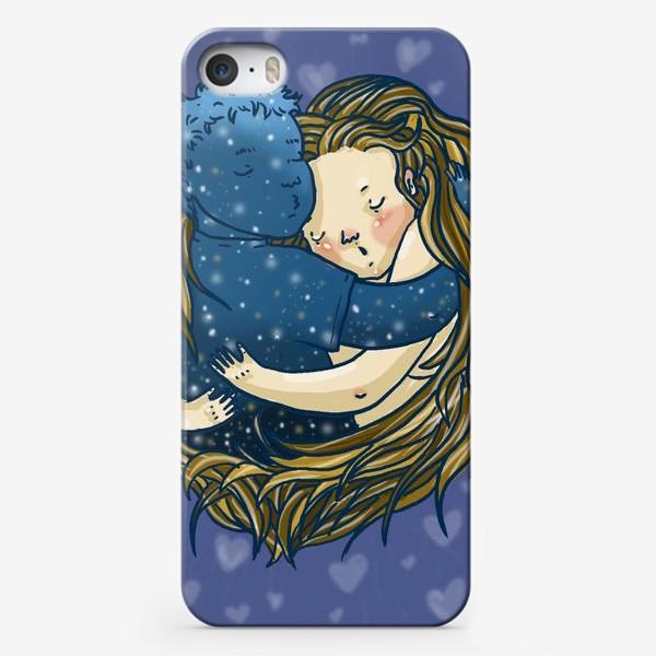 Чехол iPhone «Ты мой мир»