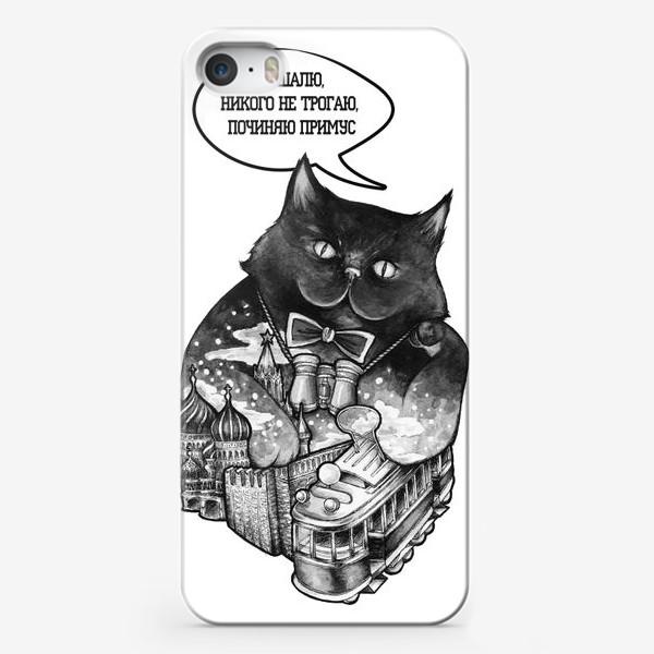 Чехол iPhone «Кот Бегемот»