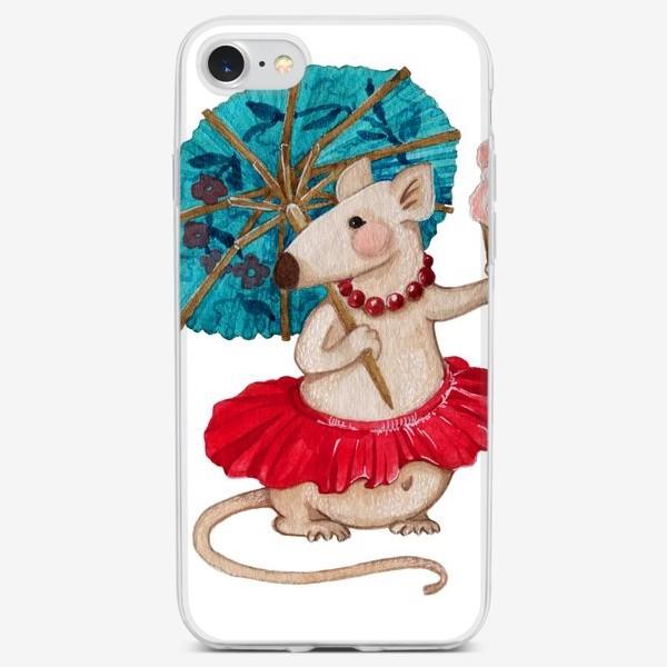 Чехол iPhone «Кокетка Мышь»