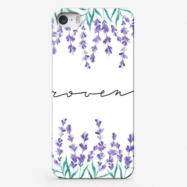 Чехол iPhone «Прованс акварель»