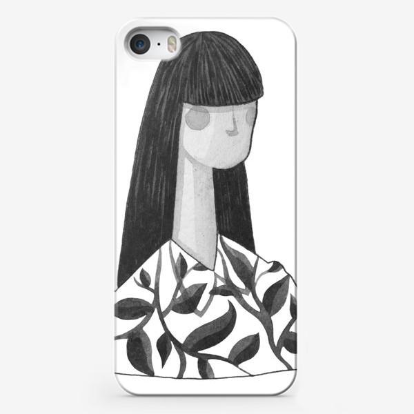 Чехол iPhone «Девушка»