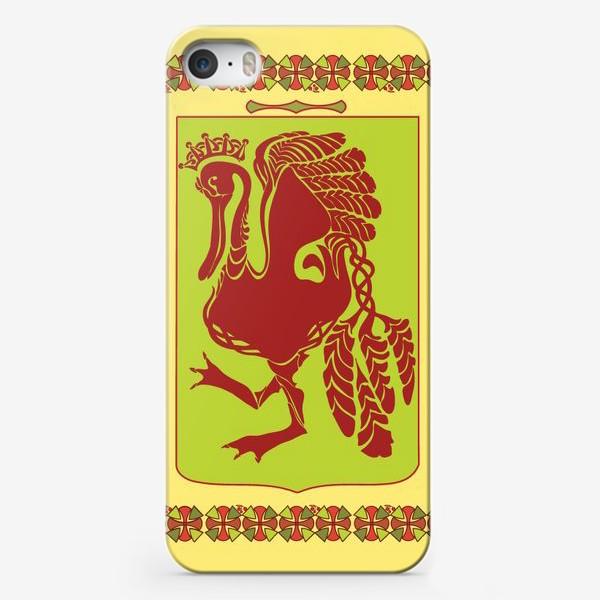 "Чехол iPhone «Герб ""Гусь на зеленом поле""»"