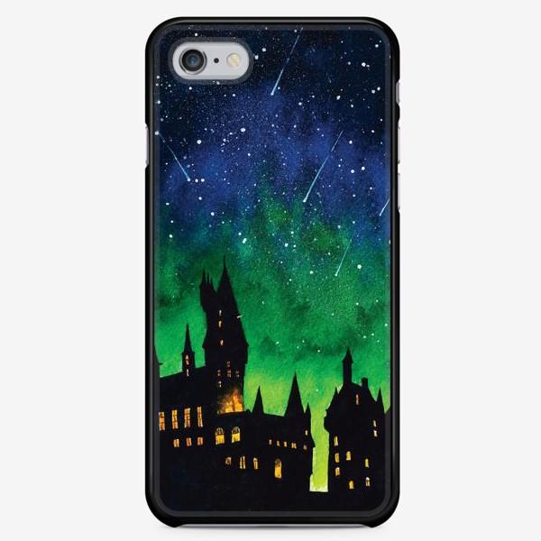 Чехол iPhone «Ночной Хогвартс»
