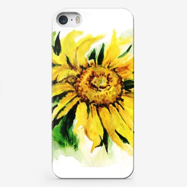 Чехол iPhone «Подсолнух»