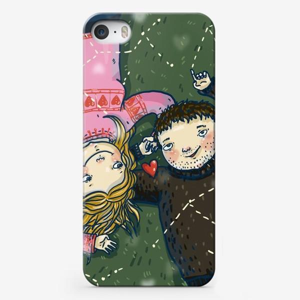 Чехол iPhone «Любовь для двоих»