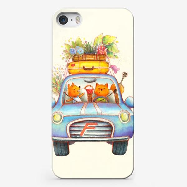 Чехол iPhone «Поехали на дачу!»