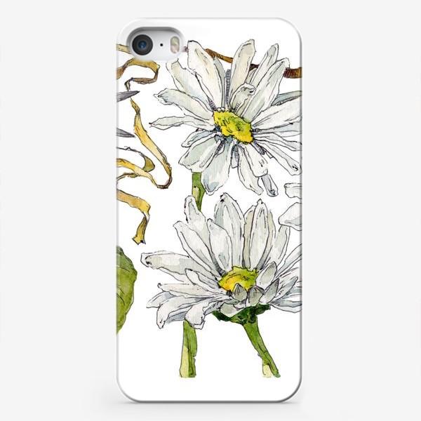 Чехол iPhone «Букет ромашек»