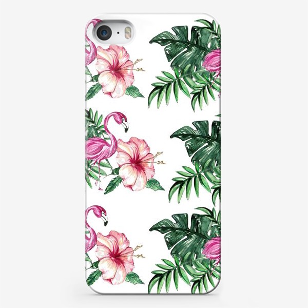 Чехол iPhone «Розовый Фламинго»
