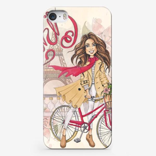 Чехол iPhone «Милый Париж»