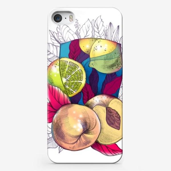 Чехол iPhone «Персиковый лимонад»