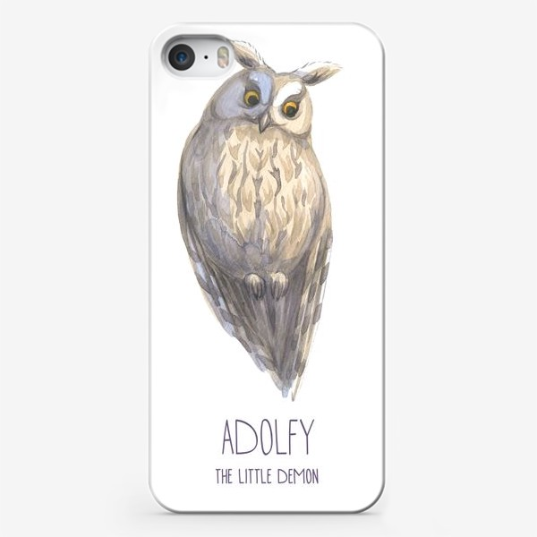 Чехол iPhone «Сова 5   Совиный характер»
