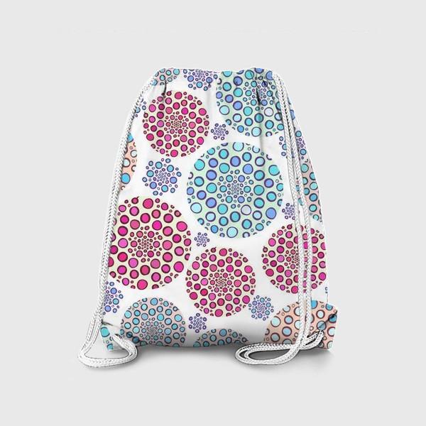 Рюкзак «Драгоценные пузырьки »