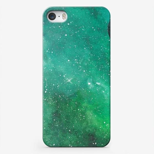 Чехол iPhone «Космическая зелень»