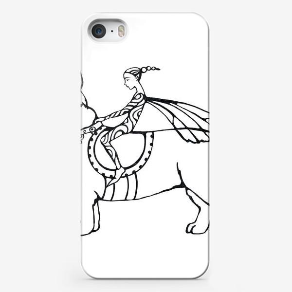 Чехол iPhone «корги- собака эльфов»