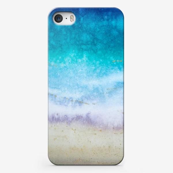 Чехол iPhone «Море абстракция»