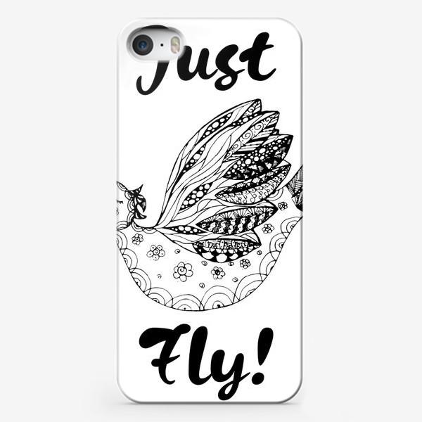 Чехол iPhone «Just fly!»