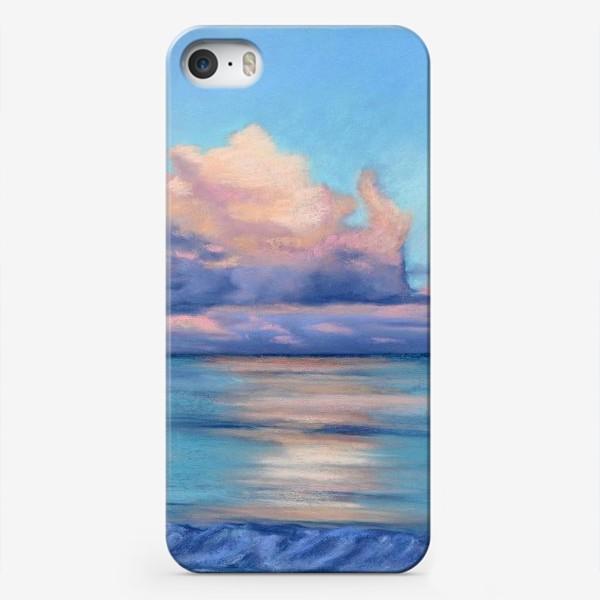 Чехол iPhone «море и облака»