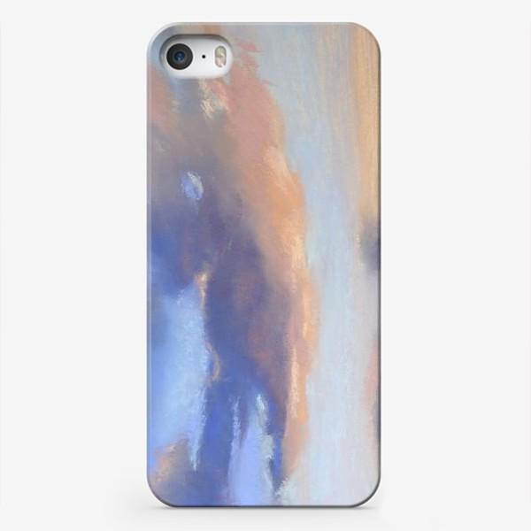 Чехол iPhone «облака и море»