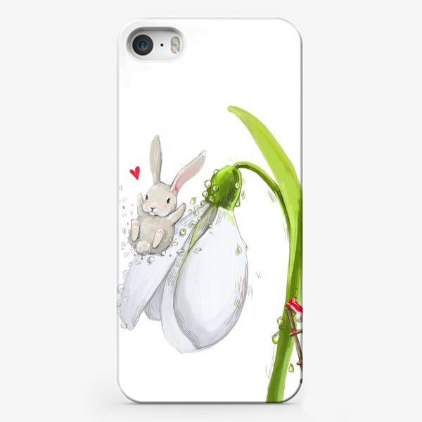 Чехол iPhone «весенние зайчики 2»