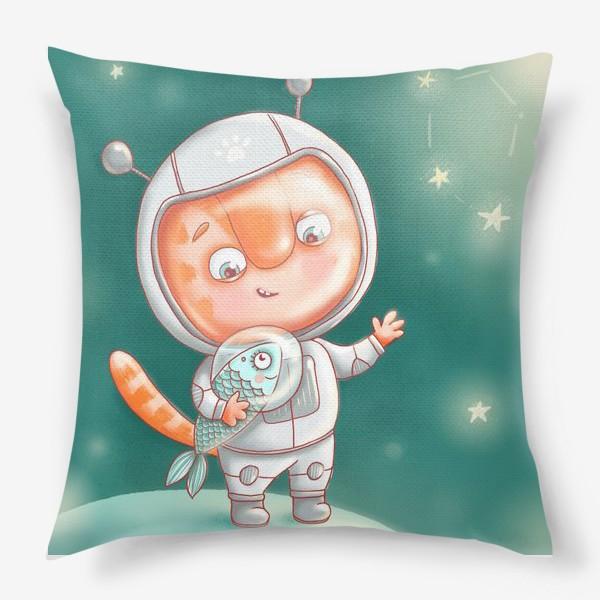 Подушка «Кексик космонавт»