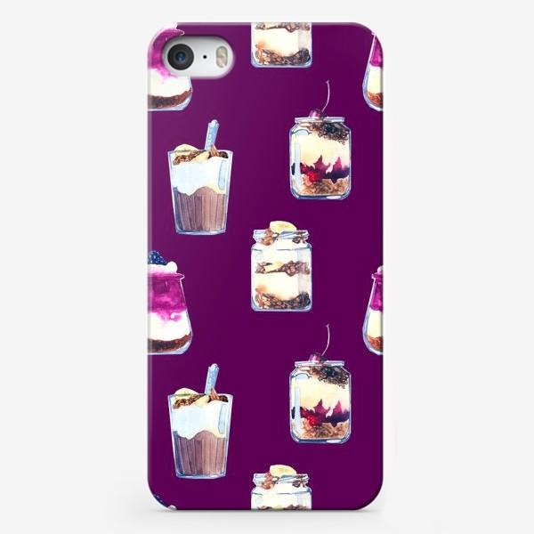 Чехол iPhone «десерты»