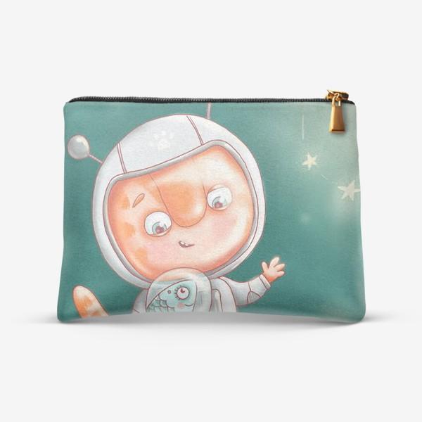 Косметичка «Кексик космонавт»