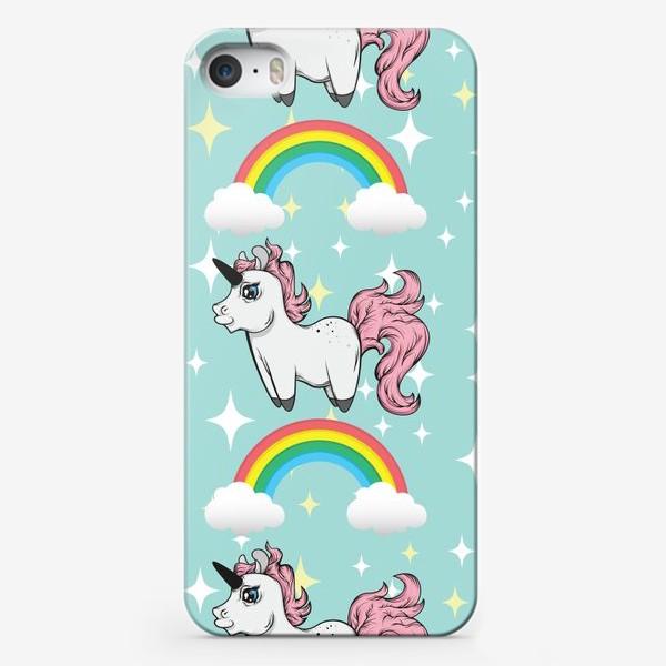 Чехол iPhone «Магические единороги »