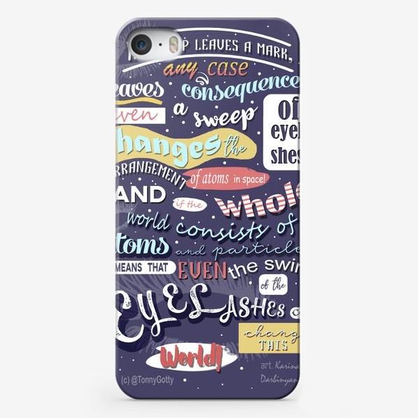 Чехол iPhone «Littering»