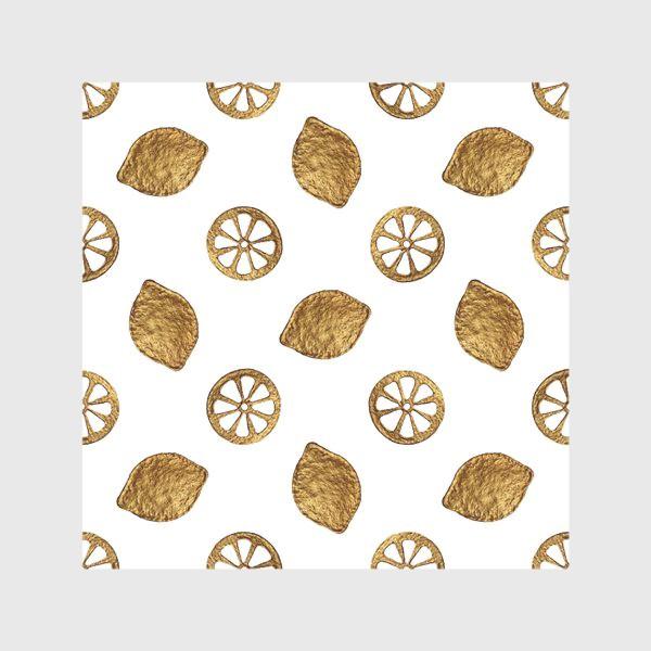 Скатерть «Лимоны золотые»