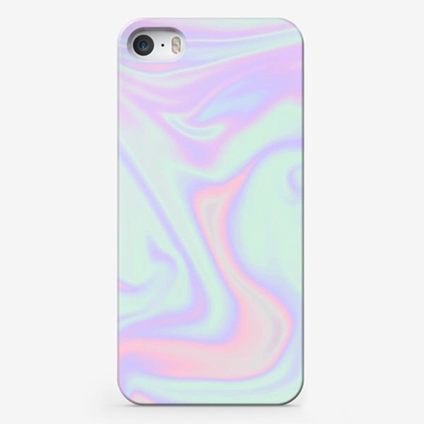 Чехол iPhone «Голографический фон ( Holographic background )»
