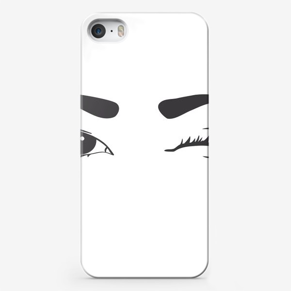 Чехол iPhone «Blinking eyes»