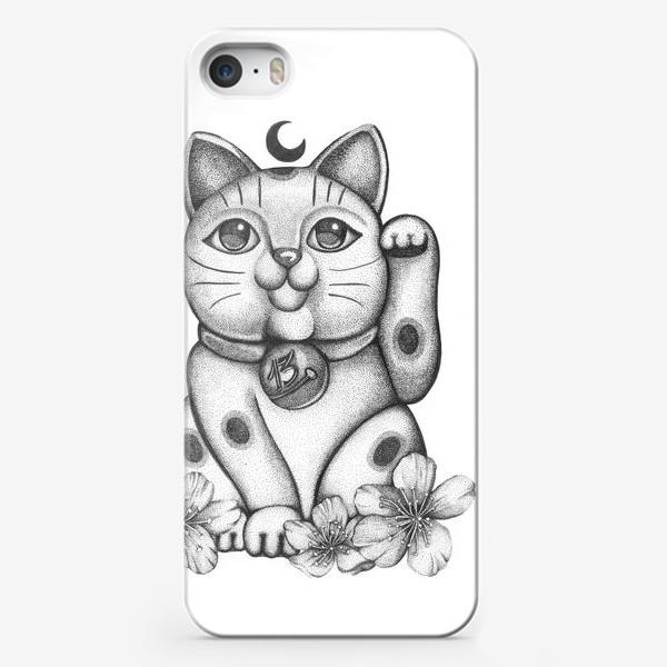 "Чехол iPhone « Талисман ""Кот удачи Манеки Неко""»"