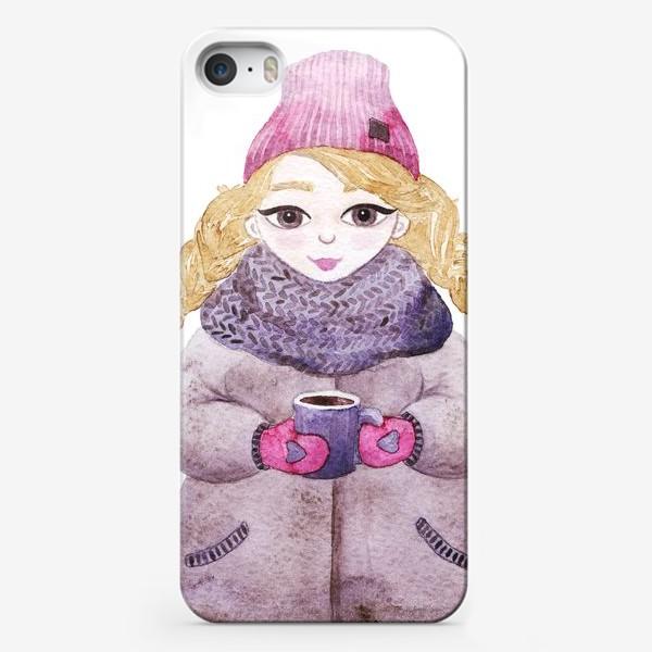 Чехол iPhone «Девочка»