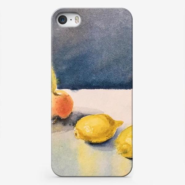 Чехол iPhone «яблоки и лимоны»