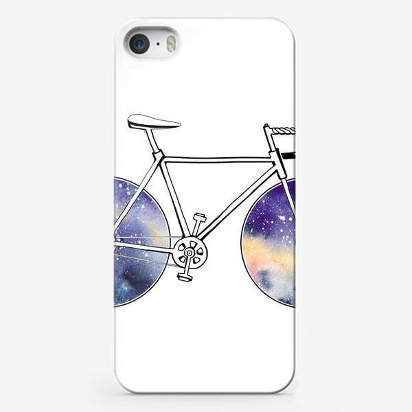 Чехол iPhone «Космический Велосипед»
