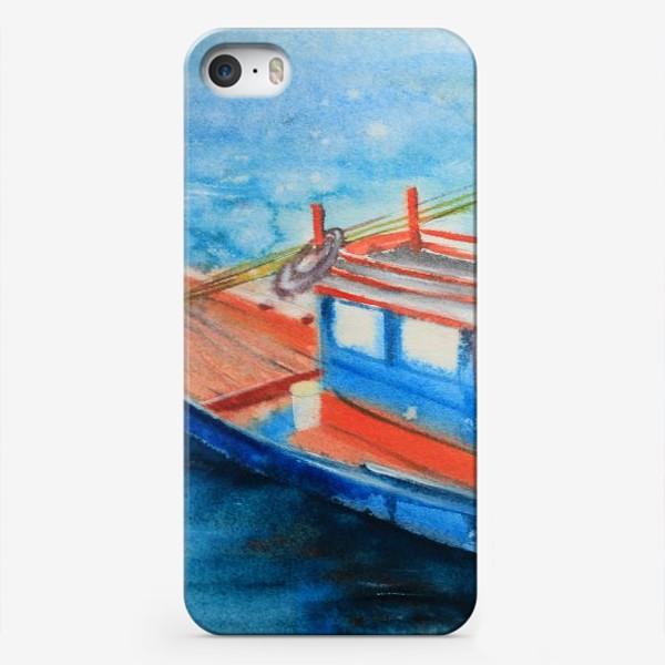 Чехол iPhone «Рыбацкая лодка»