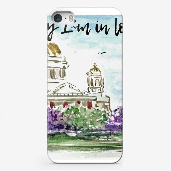 Чехол iPhone «Spb - one love»