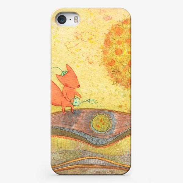 Чехол iPhone «Деревце, расти»