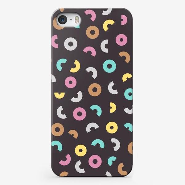 Чехол iPhone «Цветные бублики»