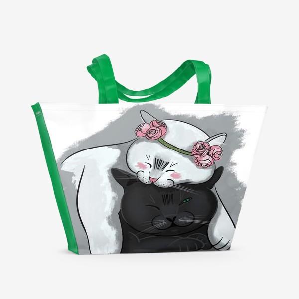 Пляжная сумка «Ля Мур »