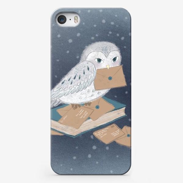 Чехол iPhone «Новогодняя сова»
